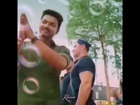 💪😎 spcl video on mersal remix song 😍😘