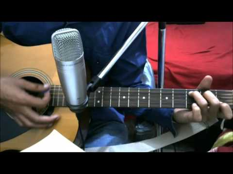 Nelle Nelle Ambar Pe - SIMPLE COMPLETE GUITAR COVER LESSON CHORDS EASY VERSION