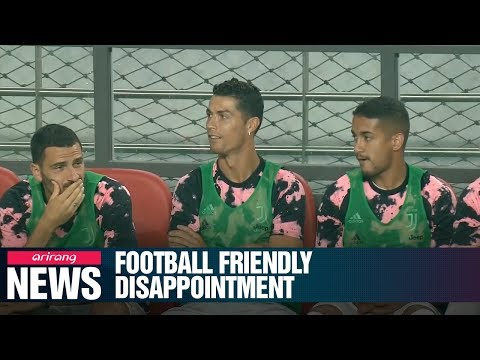 S. Korean Fans Disappointed By Ronaldo's Absence In Football Friendly