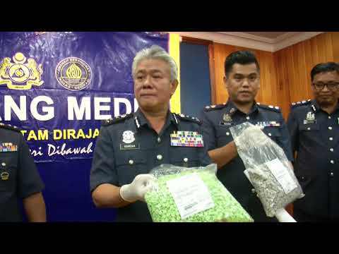 RM356k Worth Of Drugs Seized At Sabah Post Office