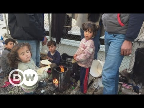 Refugees living in dire conditions on Lesbos | DW English