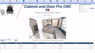 Cabinet Pro Software: Trimming 5-piece doors on the CNC Router