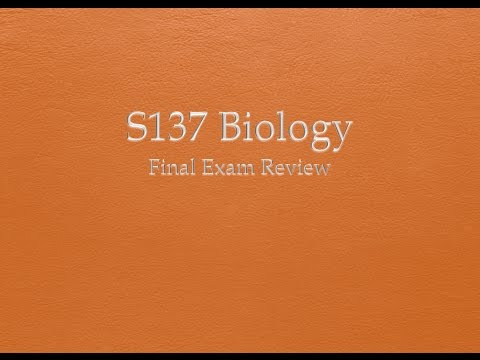 exam 4 review biology 110