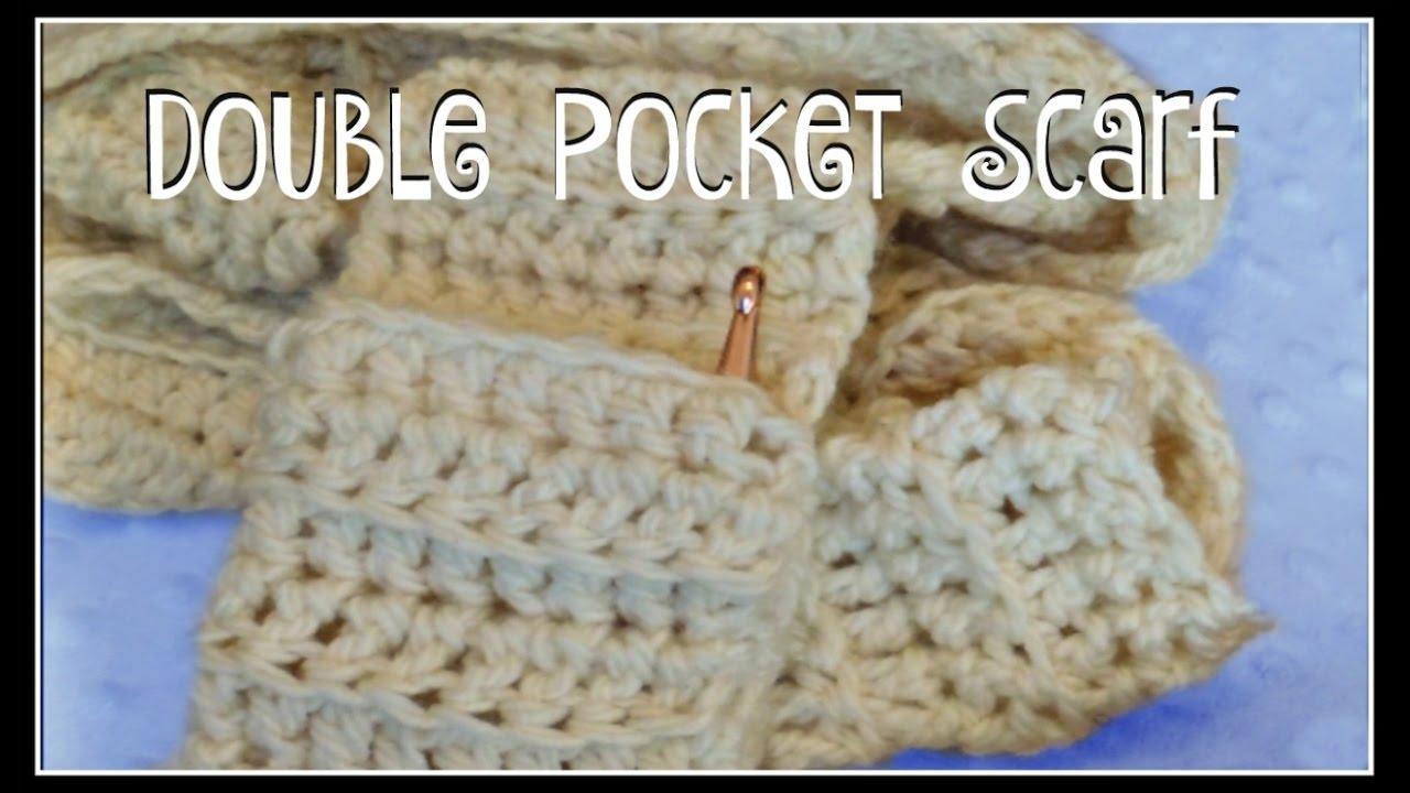 Double Pocket Scarf - YouTube