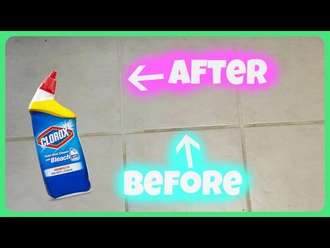 The BEST Grout Cleaner + 1st Day of PRESCHOOL!