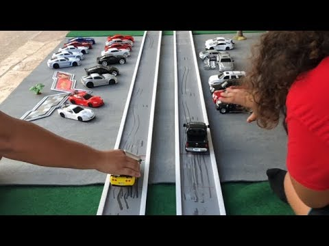 FRICTION CAR DRAG RACING