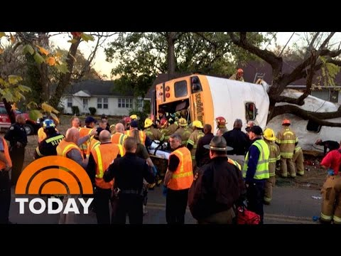 Bus Crash In Tennessee Kills At Least 5 Children, Injures Dozens; Driver Arrested | TODAY