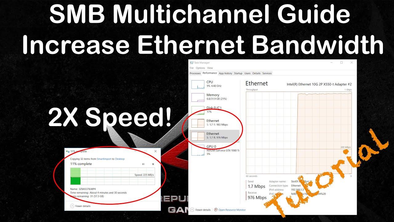 SMB Multichannel - What is it? & QNAP NAS Setup