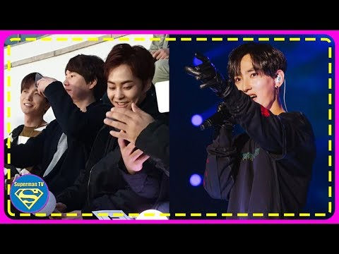 EXO's Xiumin, Super Junior's Kyuhyun, and Leeteuk were Spotted Showing Supports at H.O.T's Concert