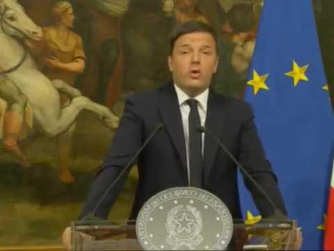 Discorso completo integrale Matteo Renzi   5 Dicembre 2016   Dimissioni Referendum Costituzionale