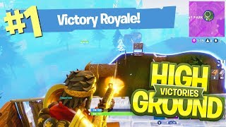 HIGH GROUND ALWAYS WINS!! -  FORTNITE BATTLE ROYALE