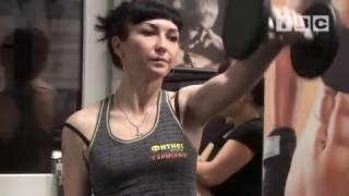 Телефитнес с Татьяной Бартош 20 выпуск (силовые упражнения для груди и плеч)