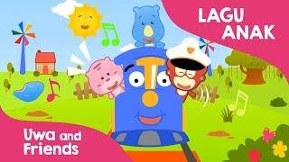 Youtube lagu anak Naik kereta api tut tut tut - Lagu anak Indonesia taman kanak kanak