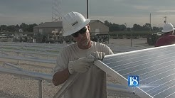 Linden leading with new solar spot