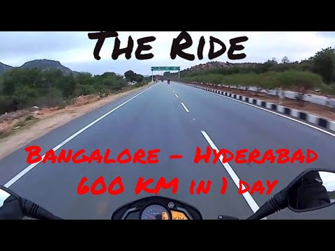 Hyderabad Highway | NH44 |Bangalore to Hyderabad on Pulsar 200 NS | E2: The Ride | All About Road