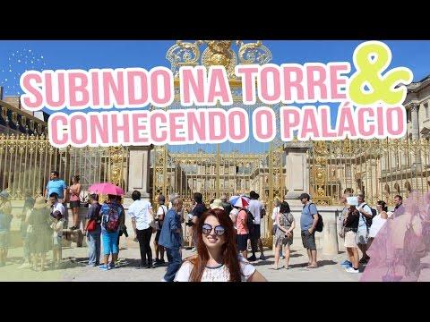 Subindo na Torre Eiffel, Sacré Coeur e Palácio de Versailles - Paris Dia 3 Vlog - Fabi Santina