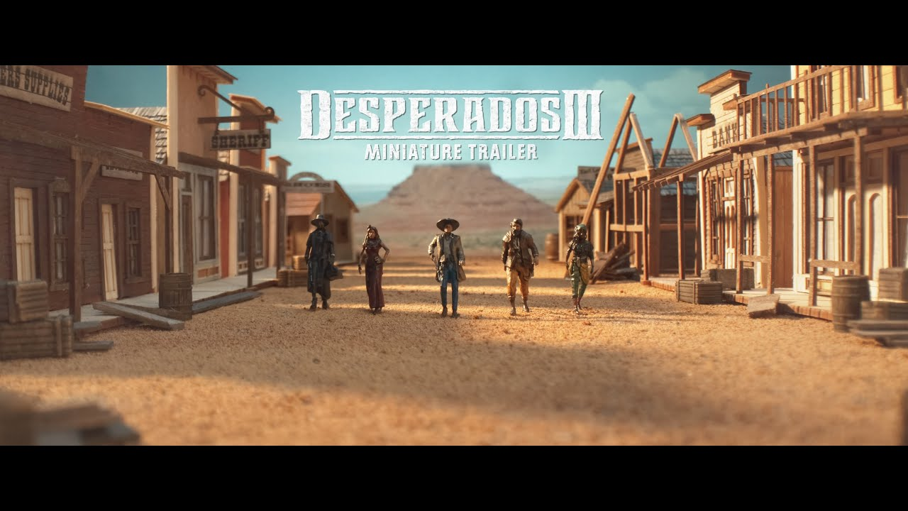 Desperados 3 Uses Tabletop Miniatures To Make The Best Trailer You Ll See All Day