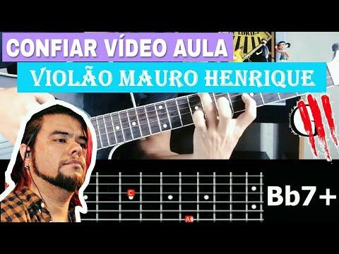 CONFIAR OFICINA G3 VIOLÃO MAURO HENRIQUE VÍDEO AULA COMPLETA ( Violão do MAURO HENRIQUE )