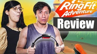 Nerd wird Fit - Ring Fit Adventure im Praxis-Review | RBTV on Tour mit Kiara & Viet