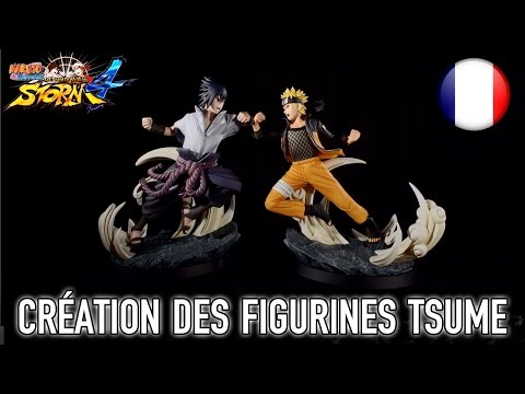 Naruto SUN Storm 4 - Création des figurines ultra collector Tsume