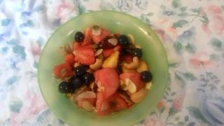 Going Vegan! Decadent fruit salad