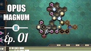 FR OPUS MAGNUM gameplay  ép 1  Chaine de production alchimique