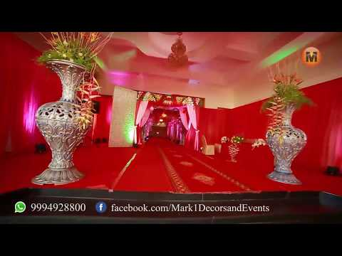 Wedding Decor and Events, The best wedding decorators in Coimbatore,Chennai and Pondicherry