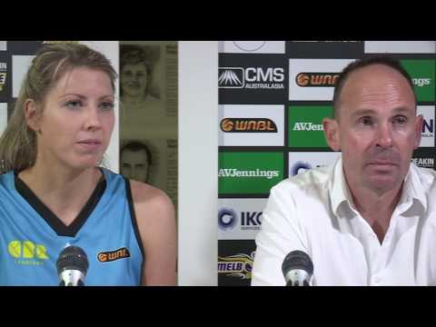 Canberra Capitals WNBL Post Match Interview 17th December 2016