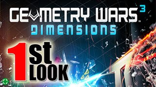 Geometry Wars 3: Dimensions  Evolved- 1st Look iOS Gameplay