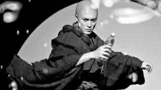 間宮祥太朗、頭髪そり上げバキバキ孤高のストロング顔/「サントリー THE STRONG 天然水スパークリング」CM