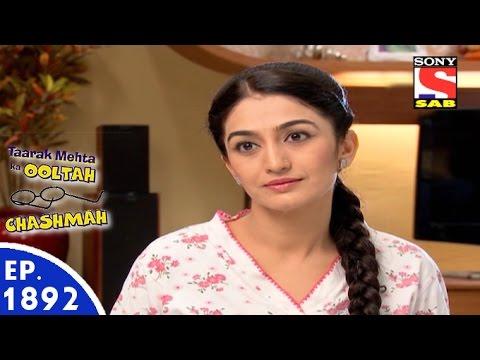 Taarak Mehta Ka Ooltah Chashmah - तारक मेहता - Episode 1892 - 15th March, 2016