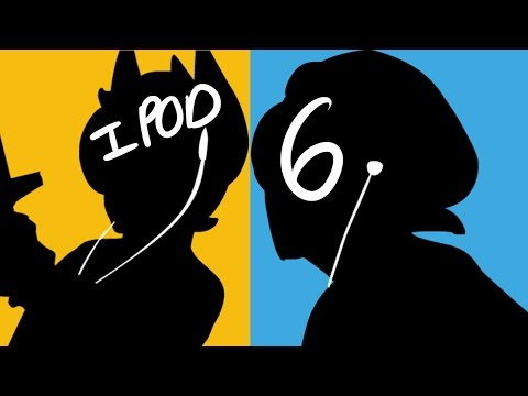 Ipod Silhouette Map Part 6