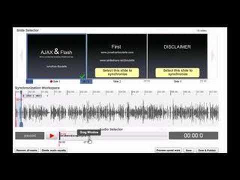 SlideCasting 101: Adding audio to slideshows on slideshare