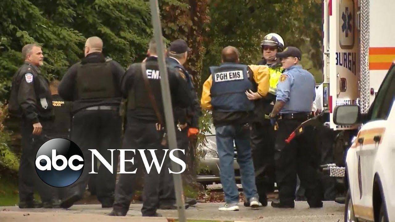 SPECIAL REPORT: 'Multiple casualties' reported in Pittsburgh synagogue shooting
