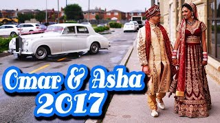 WE'RE MARRIED! Omar and Asha's Wedding Ceremony Same Day Edit Video