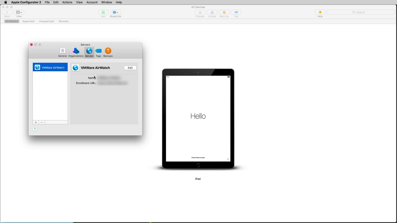 VMware Workspace ONE UEM 9 2: DEP Registration in iOS 11 - Feature  Walk-through