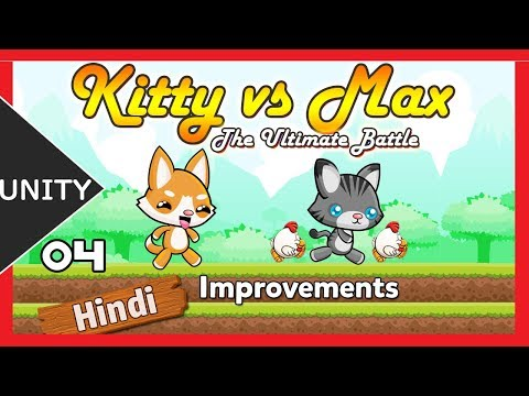 Unity 2D Platformer Game Tutorial in Hindi - [smooth gameplay 04 ] thumbnail