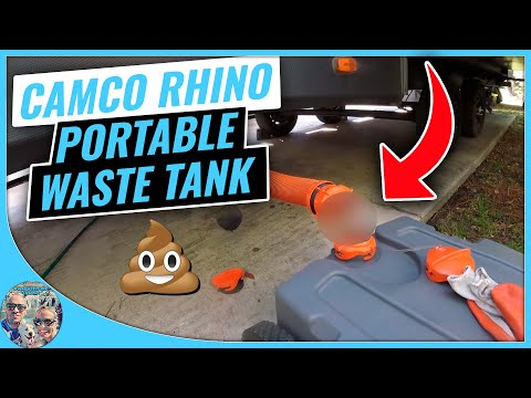 Camco Rhino Heavy Duty 36 Gallon Portable Waste Tank - Review *UPDATE*