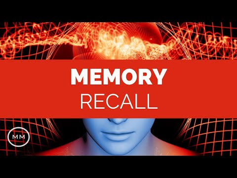 Memory Recall - Remember Past Events, People, Places - Meditation Music - Binaural Beats