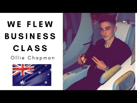 We Flew Business Class To Australia + Business Motivation Chat