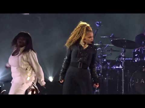 Janet Jackson - BURNITUP!/ NASTY /FEEDBACK /MISS YOU MUCH/ STATE OF THE WORLD TOUR - 9/7/2017