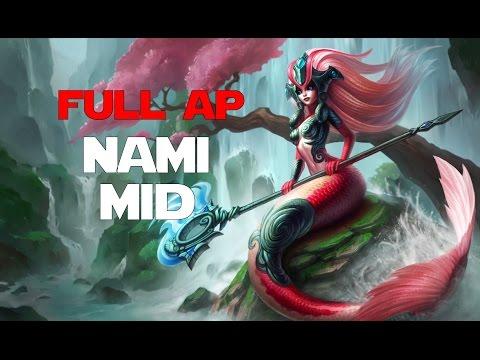 League of Legends - Off Meta Monday - Full AP Nami Mid