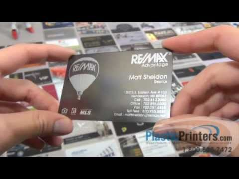 Great looking affordable realtor business card with plastic youtube great looking affordable realtor business card with plastic colourmoves