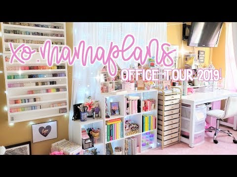 Planner Girl Office Tour 2019 | xoMamaPlans