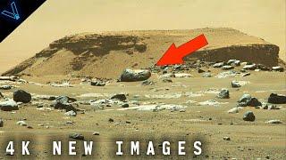 New 4K Mars Images From NASA's Perseverance Rover - Jezero Crater Showcase 04/21