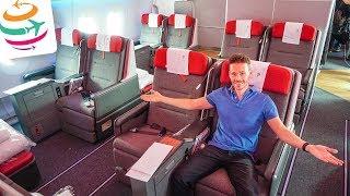 LATAM Airlines Business Class A350 BCN-GRU | GlobalTraveler.TV