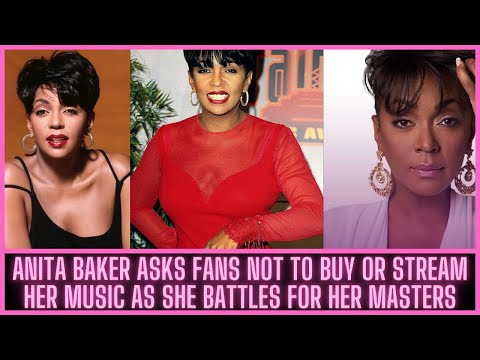|NEWS| Anita Baker Asks Fans Not To Buy Or Stream Her Music As She Battles For Her Masters