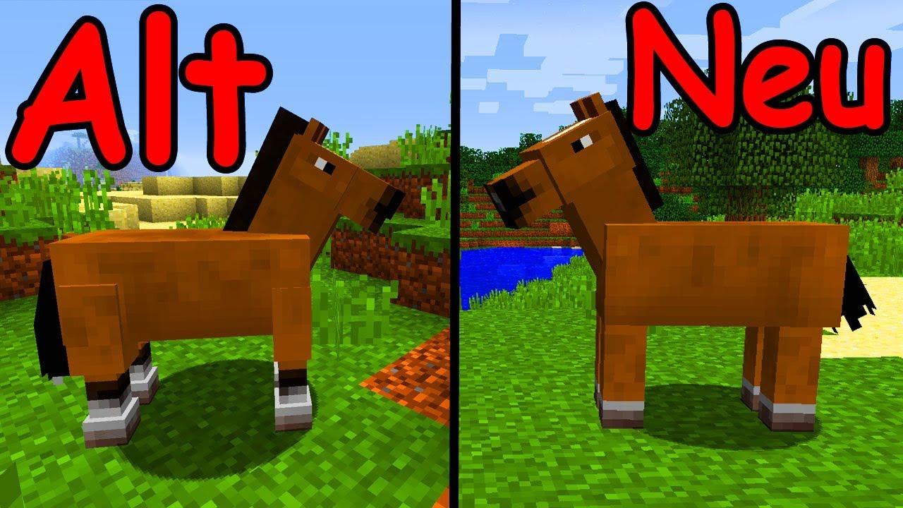 Neue Pferde Commands Minecraft Update Snapshot Wa - Minecraft spiele mit pferden