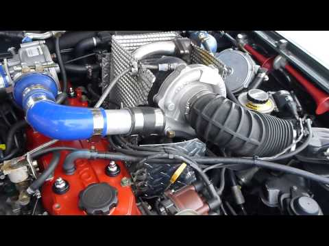 Toyota 22R Turbo Charged Blow Through Carburetor Petrol / LPG 4Runner