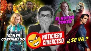 #NOTICIAS Henry Cavill deja el DCU?, Trailer de Capitana Marvel, Saga del Conjuro, el Joker y más